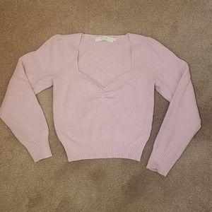 Astr knit top